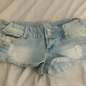 Almost famous jean shorts short